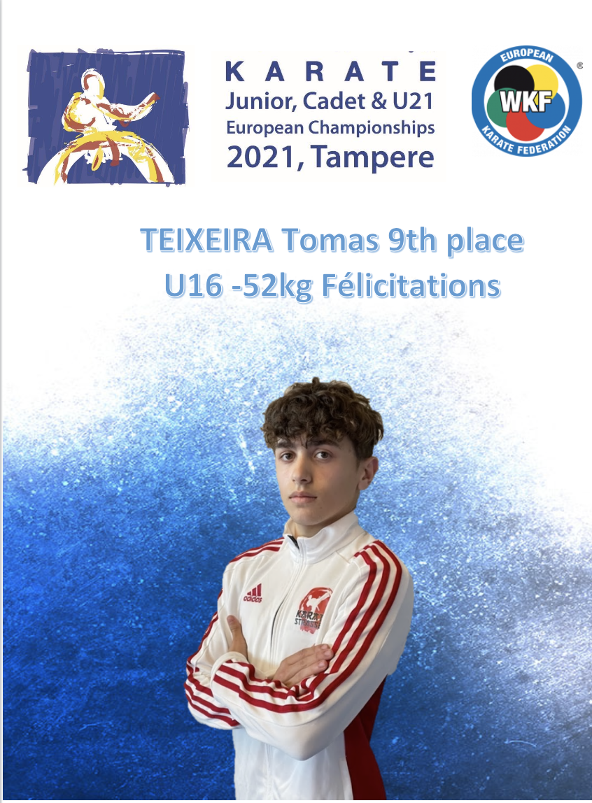 Read more about the article Championnats d'Europe Cadets,Juniors,U21